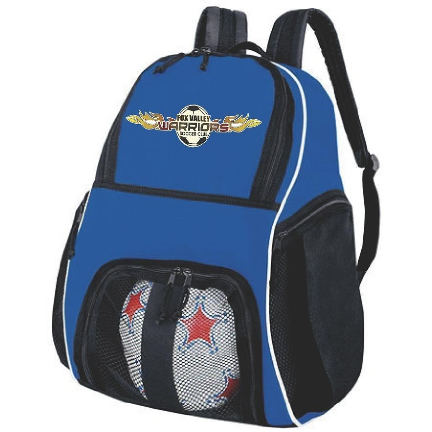 Warriors Blue Backpack
