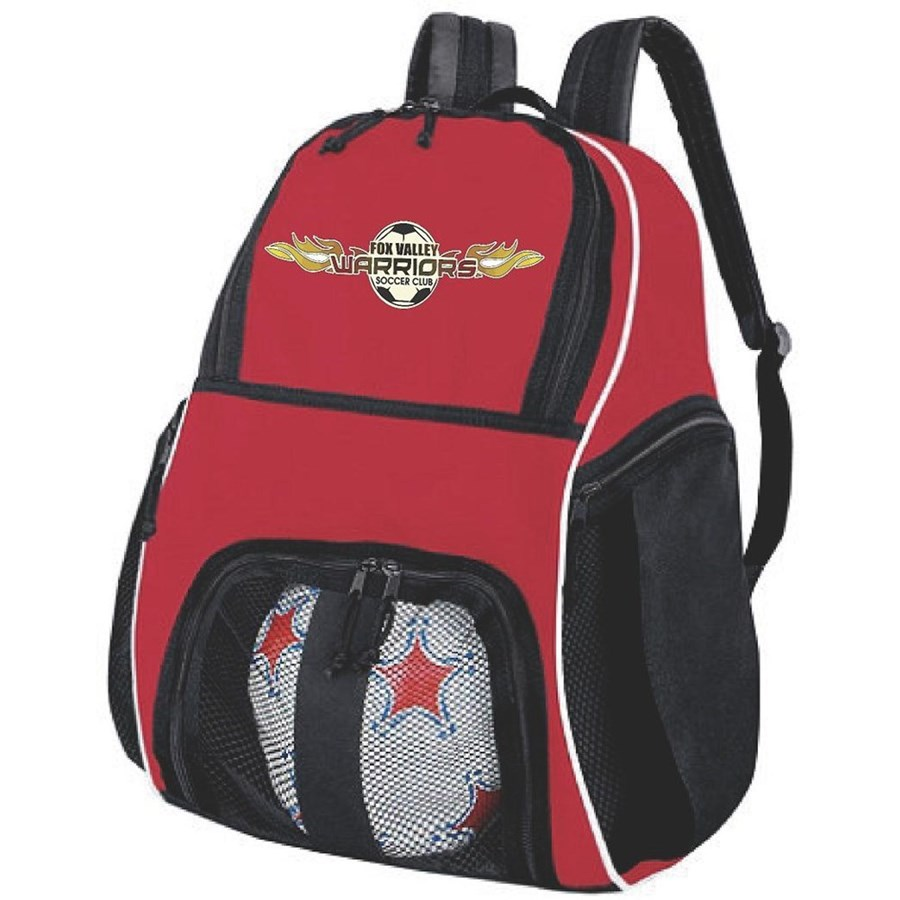 Warriors Red Backpack