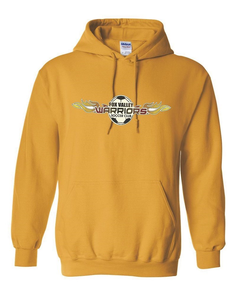 Warriors Yellow Hoody