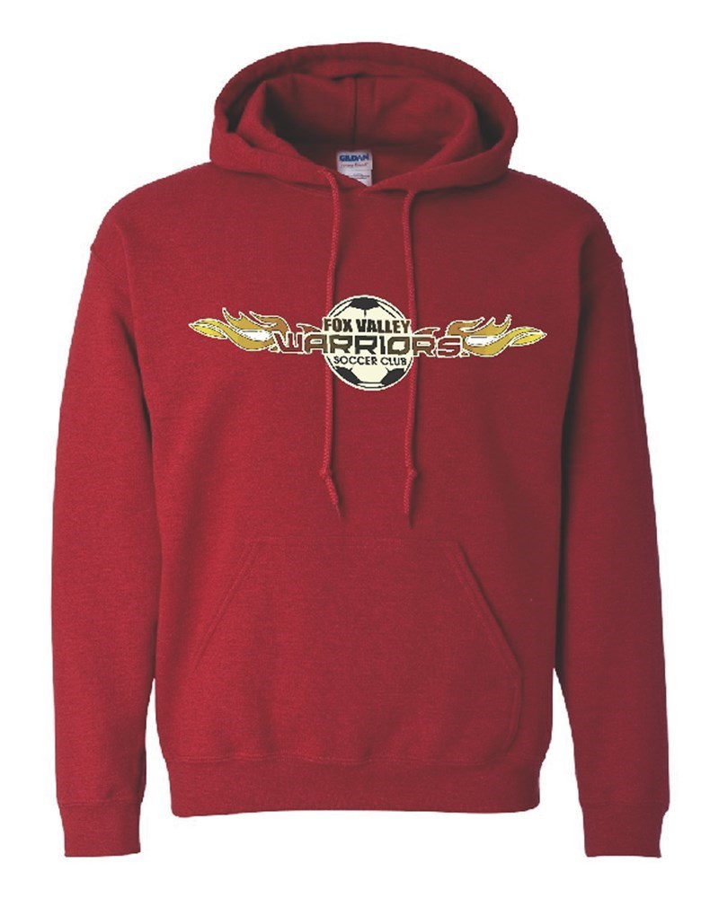Warriors Red Hoody