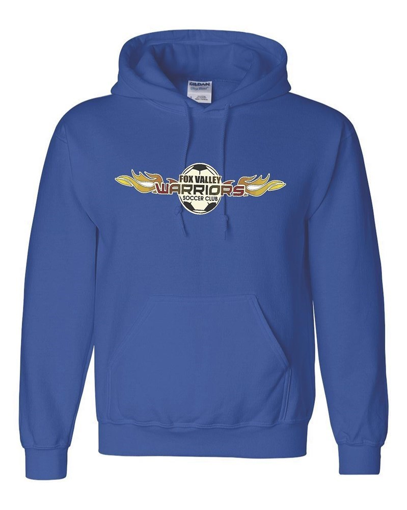 Warriors Royal Hoody